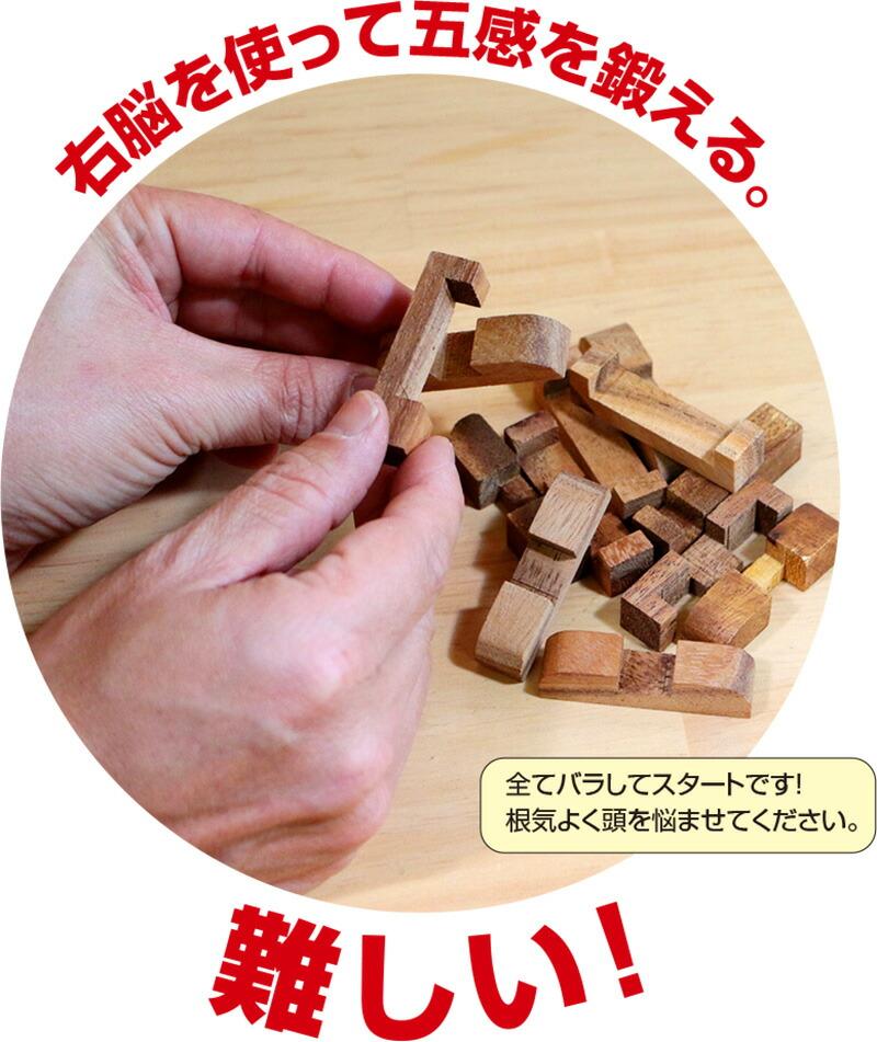 ロックスモーション・ウッドパズルセット(12個セット)